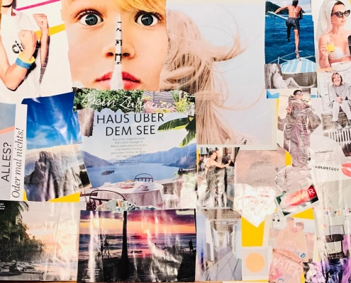 Wünsche-Collage - Create your own vision board Julia Loder